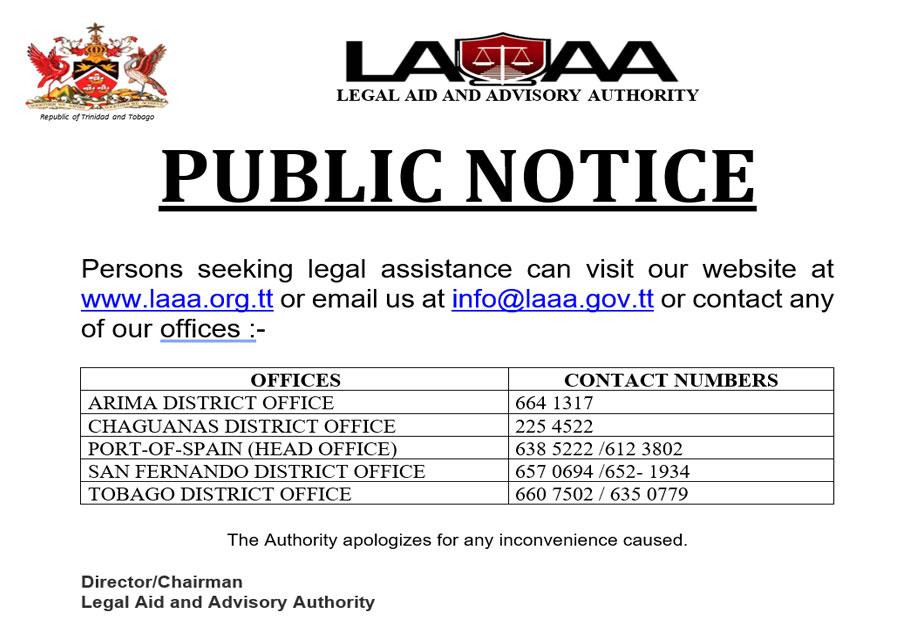 LAAA Public Notice